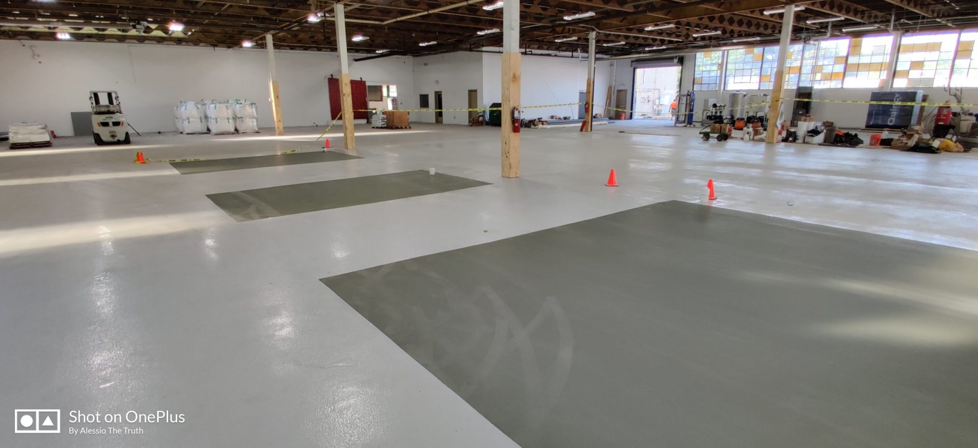 industrial epoxy flooring installed by New Jersey floor contractor The Concrete Makeover